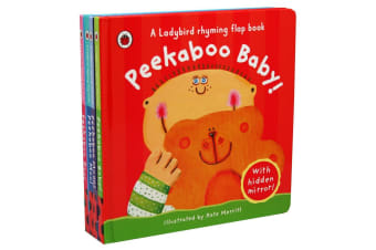 Peek a Boo 4-Book Pack