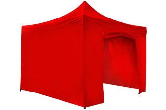 Outdoor Gazebo | 3 x 3m | Red