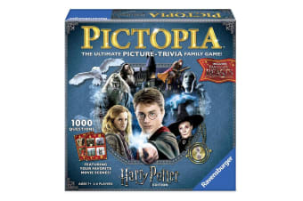 Harry Potter Pictopia Picture Trivia Family Board Game Kids/Children/Adult 7y+