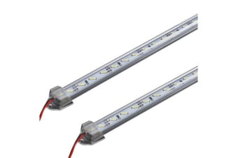 2X 50CM 12V 7020 LED STRIP LIGHT BAR