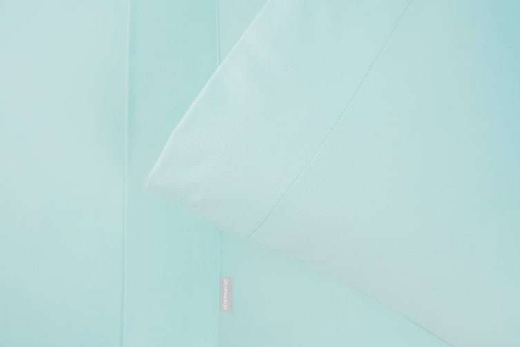 Apartmento Micro Flannel Sheet Set (Turquoise/King)