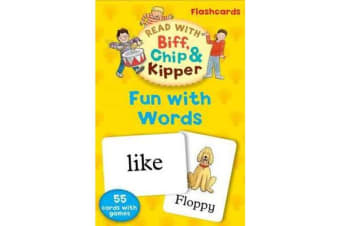 Oxford Reading Tree Read With Biff, Chip, and Kipper - Fun With Words Flashcards