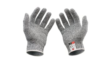 1 Pair Cut Resistant Gloves - High Performance Level 5 Protection, Food Grade- Size L