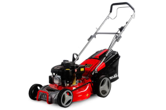 Baumr-AG Lawn Mower 18 Inch 175cc Petrol Self-Propelled Push Lawnmower 4-Stroke
