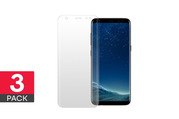 3 Pack Screen Protector for Samsung Galaxy S8