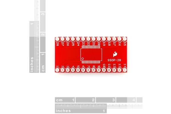 SparkFun SSOP to DIP Adapter - 28-Pin