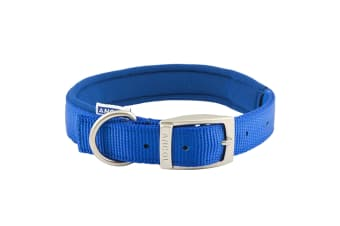 Ancol Pet Products Heritage Padded Dog Collar (Blue)