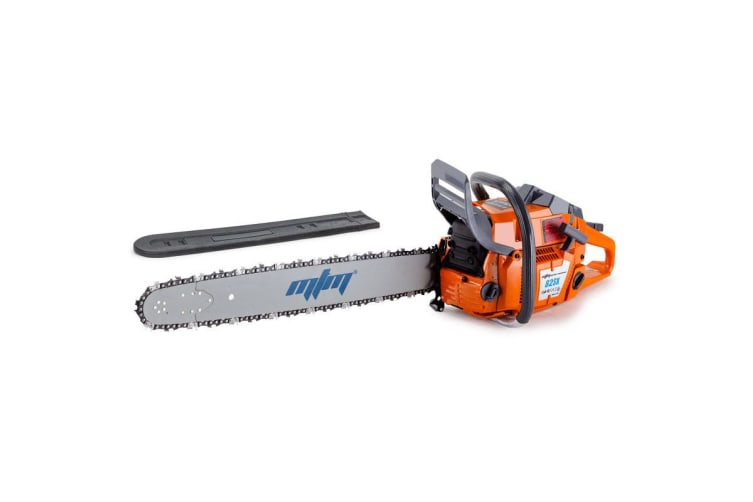 Mtm 82cc Commercial Petrol Chainsaw 24 Inch E Start Bar Tree Pruning Chain Saw