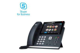 "Yealink SIP-T48S-SFB T48S Skype for Business Edition Optima HD Audio 7"" 800 x 480-pixel backlit"