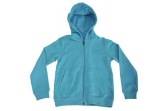 Active By Stedman Childrens Sweat Jacket (Hawaii Blue)