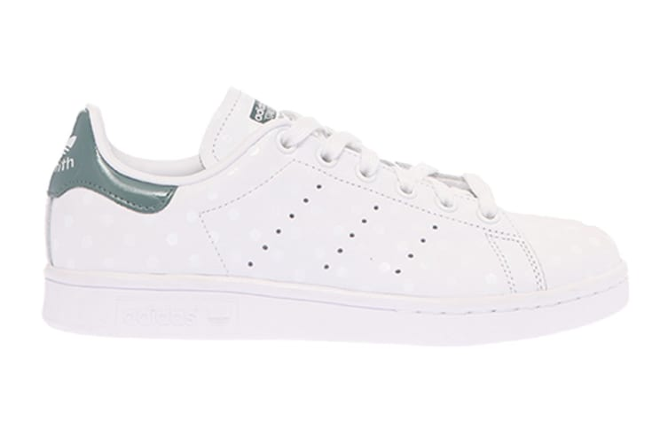 Adidas Originals Women's Stan Smith Shoes (White/Raw Green, Size 5.5)