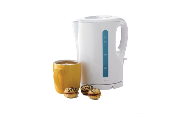 Tiffany 1.7L Cordless Kettle - White (KT340)