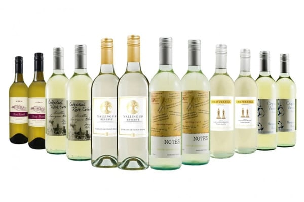 Exceptional Christmas Margaret River White Mixed Wine (12 Bottles)