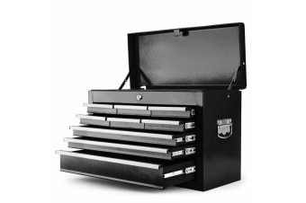 BULLET 9 Drawer Tool Box Chest Mechanic Garage Storage Toolbox Set Organiser