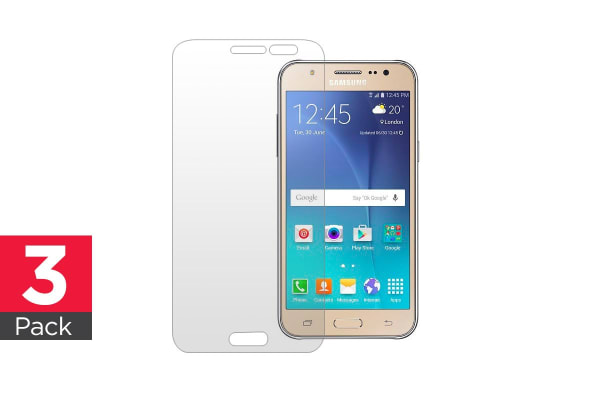 3 Pack Screen Protector for Samsung Galaxy J500