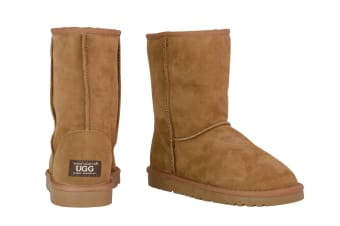 OZWEAR Connection Classic 3/4 Ugg Boots (Chestnut, Size 9M / 10W US)