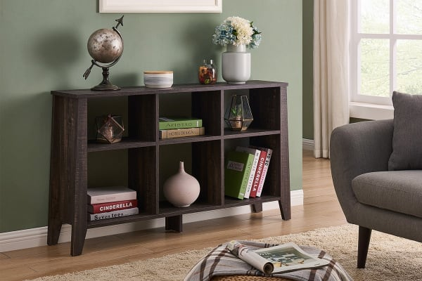 Shangri-La Book Shelf - Camden Collection (Dark Oak)
