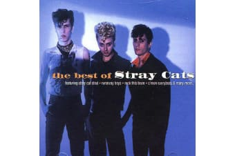 Stray Cats – The Best Of BRAND NEW SEALED MUSIC ALBUM CD - AU STOCK