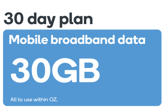 Kogan Mobile Broadband Voucher Code: DATA M (30GB | 30 DAYS)