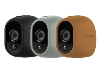 Arlo by Netgear Replaceable Multi-colored Silicone Skins - Brown, Black, Grey (VMA1200D-10000S)