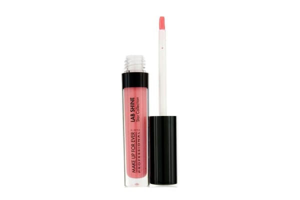 Make Up For Ever Lab Shine Star Collection Pearly Lip Gloss - #S24 (Coral) (Unboxed) (2.6g/0.09oz)