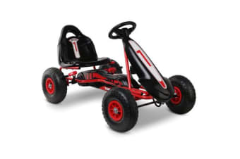 Kids Pedal Powered Go Kart (Red)