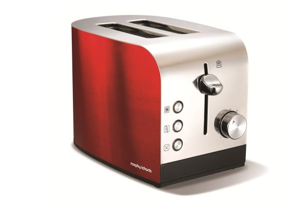 Morphy Richards Accents 2 Slice Toaster (Red)