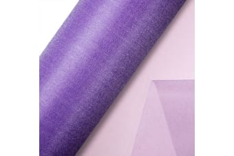 Club Green Organza 10 Metre Snow Sheer Roll (Lilac)