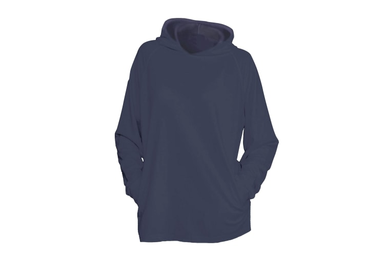 One By Mantis Unisex Hoodie (Charcoal Marl) (S)