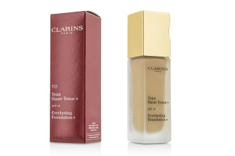 Clarins Everlasting Foundation+ SPF15 - # 112 Amber 30ml/1.2oz
