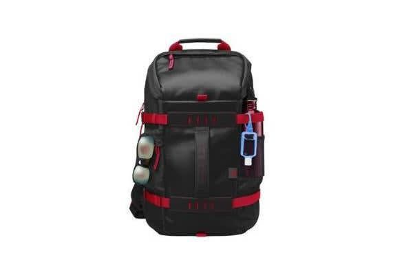 HP ODYSSEY BACKPACK BLACK RED 15.6