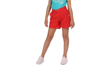 Regatta Kids Damita Vintage Look Shorts (Coral Blush) (11-12 Years)