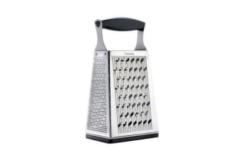 Cuisipro Accutec 4 Sided Box Grater w/ Ginger Grater