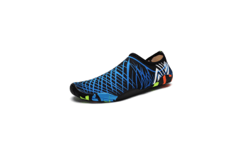 Beach Snorkeling Shoes Diving Lovers Wading Shoes Swimming Shoes 988 Blue 40