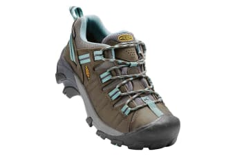 Keen Targhee II Waterproof Womens - Black Olive Mineral Blue - 6