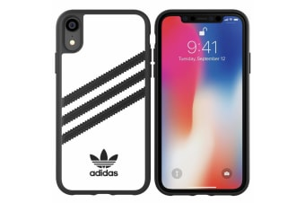 Adidas Original Classic Moulded Case f/ iPhone XR - White