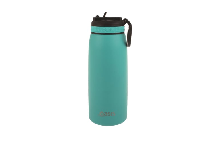 Oasis 780ml Insulated Sports Bottle With Straw - Turquoise