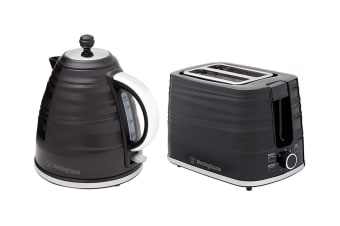 Westinghouse Kettle and Toaster Breakfast Pack - Black