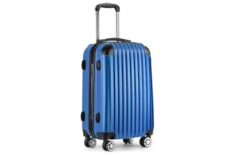Lightweight Hard Suit Case (Blue)
