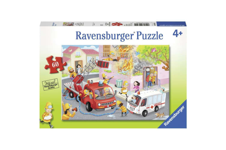 Ravensburger Jigsaw Puzzle Firefighter Rescue - 60 Piece