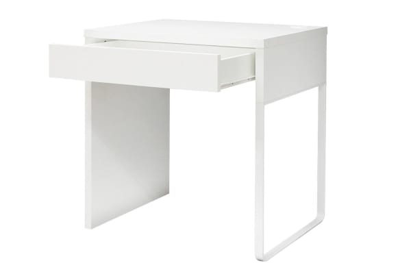 Exceptionnel Ovela Study Desk With Drawer (White)