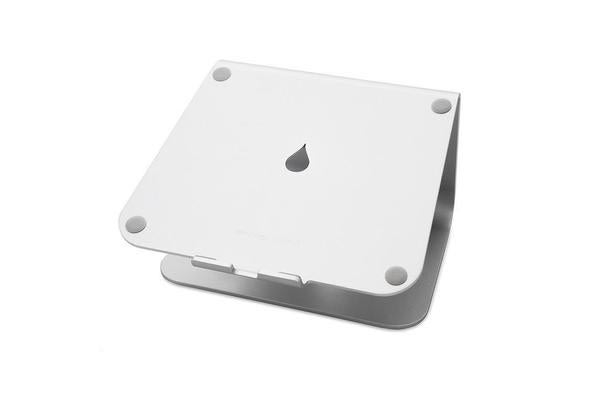Rain Design 10032 mStand Laptop Stand Silver (Patented) Single-Piece Aluminium Design Increase
