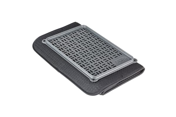Polder Microfibre Drying Mat With Glass Tray