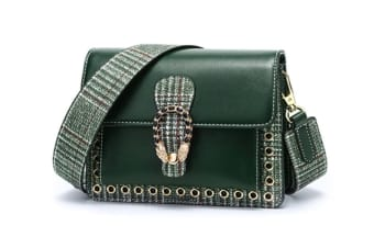 Mini Small Square Bag, Fashion Shoulder Messenger Bag Green