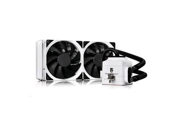 DEEPCOOL Gamer Storm Captain 240EX AIO Liquid Cooling - White Intel:
