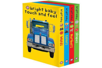 Bright Baby Touch and Feel - Words/Colors/Numbers/Shapes