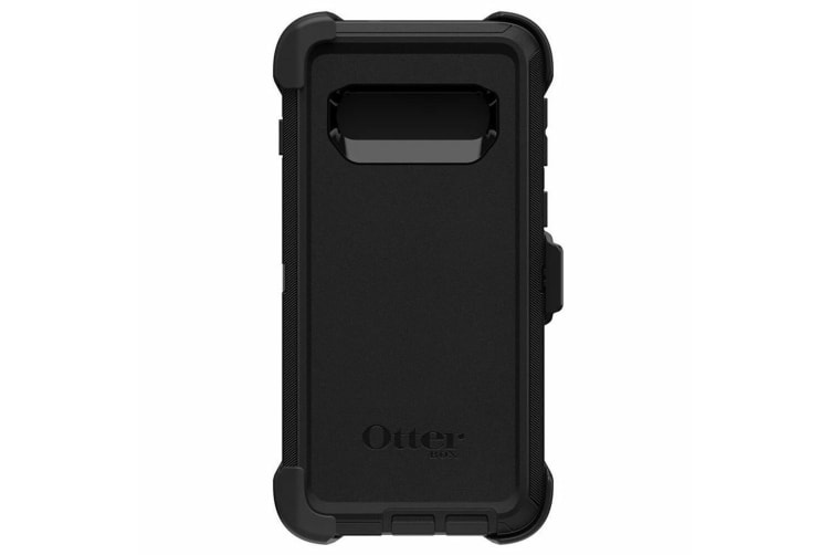 Otterbox Defender Tough Protective Case Cover w/ Clip for Samsung Galaxy S10 BLK