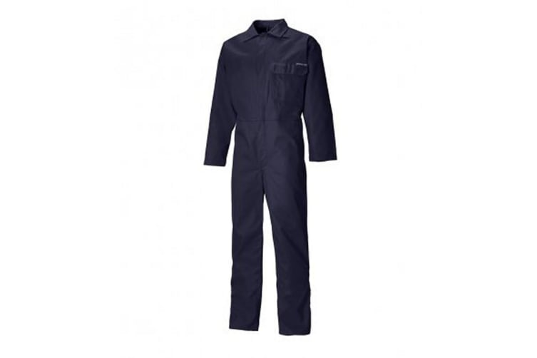 Dickies Mens Flame Resistant Everyday Coverall (Navy) (44in Reg)