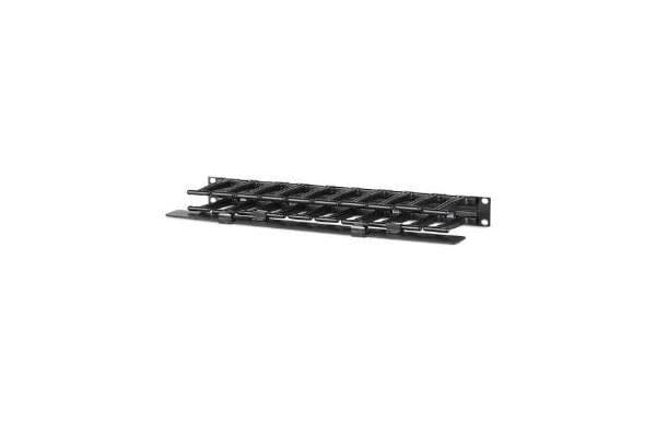 APC - SCHNEIDER Horizontal Cable Manager 1U x 4IN Deep Single-Sided with Cover