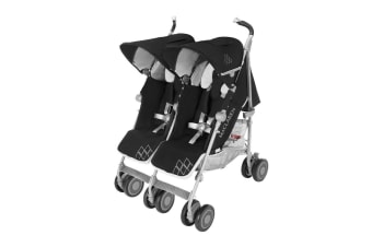Maclaren Twin Techno Stroller Black